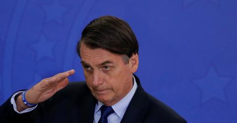 Bolsonaro comemora aumento da confiança na Presidência, mas ignora avaliação do governo