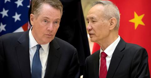 Placeholder - loading - 'Avanços significativos' continuam com fim de nova rodada de negociações entre EUA e China