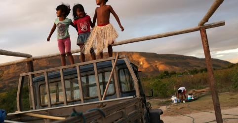 Placeholder - loading - Imagem da notícia WIDER IMAGE-Indígenas de reserva Raposa Serra do Sol temem novas ameaças de mineradores e agricultores