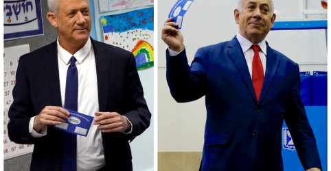Placeholder - loading - Imagem da notícia Israelenses vão às urnas para decidir possível recorde de mandatos para Netanyahu