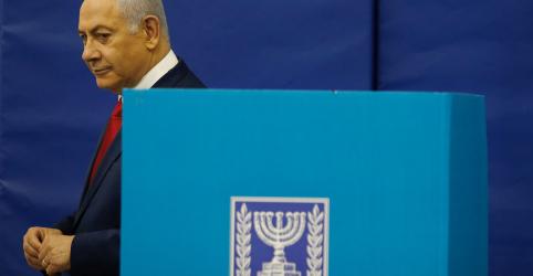 Placeholder - loading - Imagem da notícia Israelenses vão às urnas decidir se Netanyahu terá permanência recorde no governo