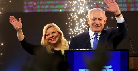 Placeholder - loading - Premiê Netanyahu assegura reeleição em Israel com maioria parlamentar