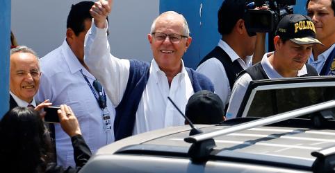 Placeholder - loading - Imagem da notícia Ex-presidente peruano Kuczynski é detido por caso de corrupção vinculado à Odebrecht