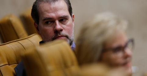 Placeholder - loading - Imagem da notícia Ministro Alexandre de Moraes manda retirar de site reportagem sobre Toffoli