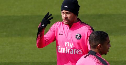 Treinador do PSG diz que Neymar pode voltar aos campos neste domingo