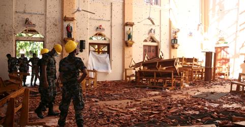 Papa condena ataques no Sri Lanka como 'atos terroristas' injustificáveis