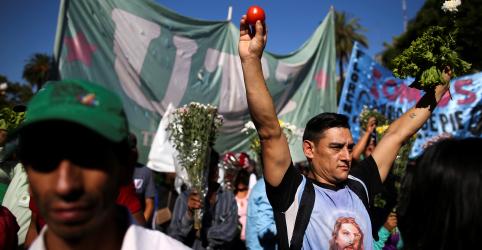 Placeholder - loading - Antes aliados, agricultores da Argentina se voltam contra Macri