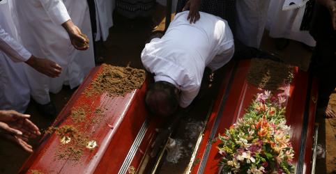 Placeholder - loading - Imagem da notícia Estado Islâmico reivindica autoria de ataques no Sri Lanka