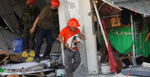 Placeholder - loading - Imagem da notícia Socorristas buscam sobreviventes após terremoto que matou 16 nas Filipinas