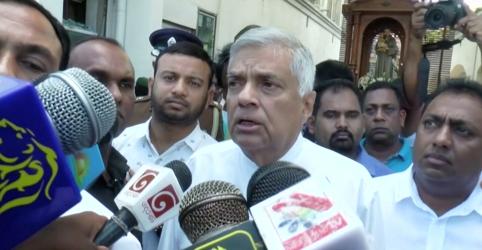 Premiê do Sri Lanka diz que ataques podem ter relação com Estado Islâmico