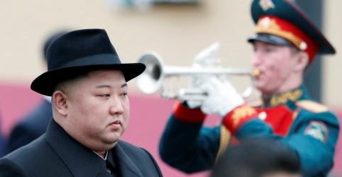 Líder norte-coreano chega à Rússia para reunião com Putin