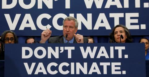 Casos de sarampo nos EUA atingem pico desde erradicação em 2000, diz CDC