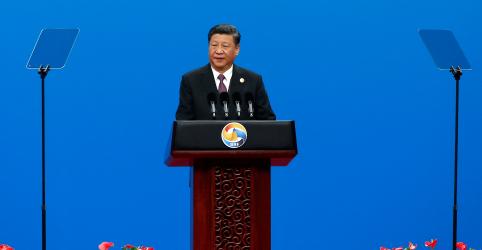 Placeholder - loading - Imagem da notícia Presidente da China diz que iniciativa Cinturão e Rota precisa ser ecológica e sustentável