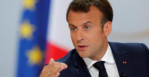 Placeholder - loading - Macron diz que equilibrará corte de impostos com redução de despesas