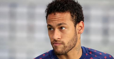 Placeholder - loading - Imagem da notícia Neymar é suspenso por 3 jogos da Liga dos Campeões por insultar arbitragem