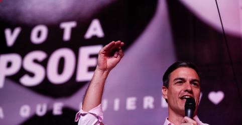 Placeholder - loading - Imagem da notícia Socialistas avaliam aliados para compor governo após eleição na Espanha