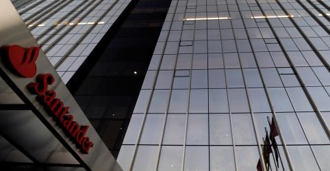 Placeholder - loading - Imagem da notícia Lucro do Santander Brasil supera estimativas no 1º tri, mas crédito desacelera