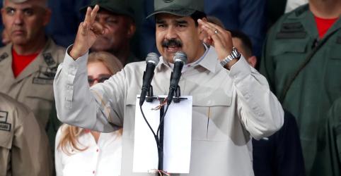 Placeholder - loading - Maduro diz que líderes militares mantêm lealdade a ele