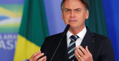 Placeholder - loading - Imagem da notícia Bolsonaro diz que chance de intervenção militar do Brasil na Venezuela é 'próxima de zero'