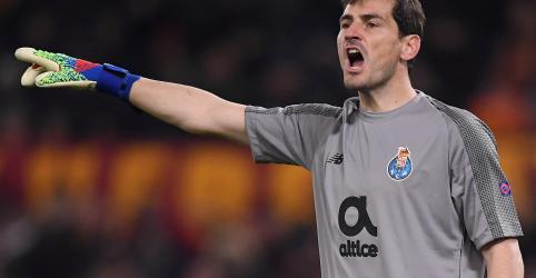 Casillas sofre ataque cardíaco e é levado a hospital, diz rádio