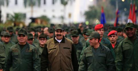 Maduro procura mostrar lealdade de militares da Venezuela durante crise