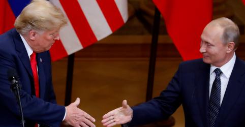 Placeholder - loading - Trump diz que teve conversa 'longa e muito boa' com Putin sobre Venezuela e outros temas