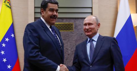 Placeholder - loading - Maduro pode visitar a Rússia no próximo mês, diz agência