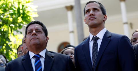 Placeholder - loading - Vice de venezuelano Guaidó é preso e levado em caminhão guincho