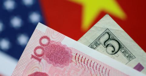 Déficit comercial dos EUA com a China atinge mínima de 5 anos