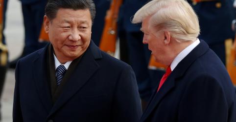 Trump diz que recebeu uma 'bela carta' do presidente da China