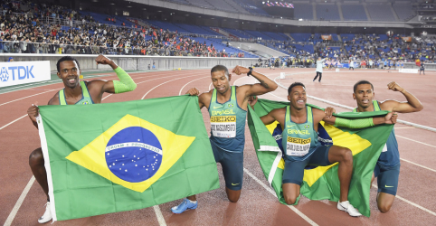 Placeholder - loading - Brasil surpreende EUA em final de revezamento 4x100m e conquista vitória