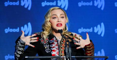 Placeholder - loading - Imagem da notícia Madonna diz que não vai se curvar a nenhuma 'agenda política' e confirma presença no Eurovision