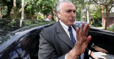 Placeholder - loading - Imagem da notícia Temer é solto e volta para casa em São Paulo após decisão do STJ