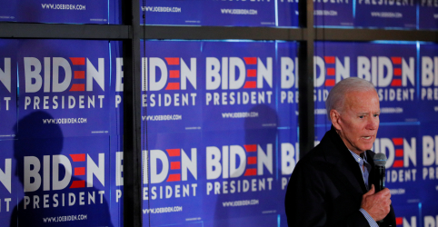Placeholder - loading - Biden amplia vantagem sobre concorrentes de prévia democrata para 2020, aponta pesquisa