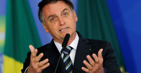 Placeholder - loading - Nos EUA, Bolsonaro diz que Brasil quer povo e empresários norte-americanos por perto
