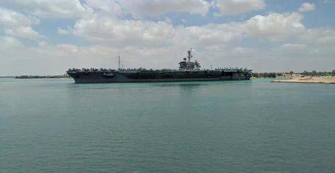 Placeholder - loading - Mísseis do Irã podem facilmente atingir navios dos EUA no Golfo Pérsico, diz vice da Guarda