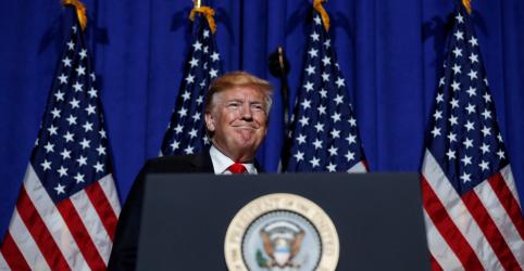 Placeholder - loading - Trump diz que tarifas fazem empresas deixarem a China e que acordo não pode ser igualitário