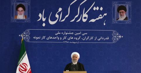 Placeholder - loading - Imagem da notícia Irã rejeita conversas com EUA e diz que enfrenta 'guerra econômica'