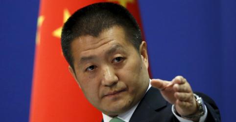 Placeholder - loading - China acusa EUA de 'rumores' e 'mentiras' sobre laços da Huawei com o governo