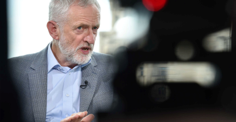 Placeholder - loading - Líder da oposição britânica defende realização de nova eleição após renúncia de May