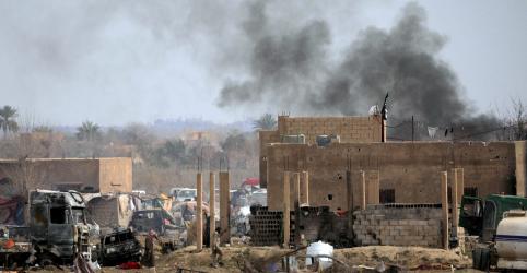 EXCLUSIVO-EUA enviaram suspeitos do Estado Islâmico da Síria ao Iraque para julgamento