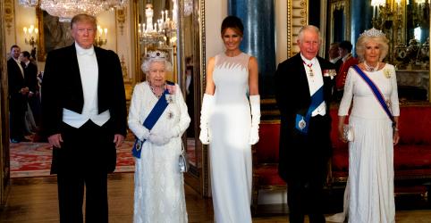 Com brinde a Trump, rainha Elizabeth dá as boas-vindas em banquete de Estado