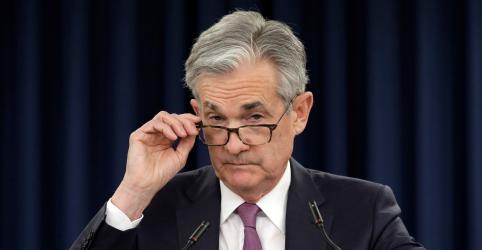 Placeholder - loading - Powell diz que Fed vai agir 'conforme apropriado' diante de riscos de comércio e outros