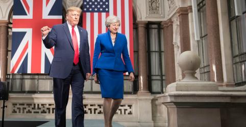 Placeholder - loading - Trump promete acordo comercial pós-Brexit 'fenomenal' ao Reino Unido e solução para caso Huawei