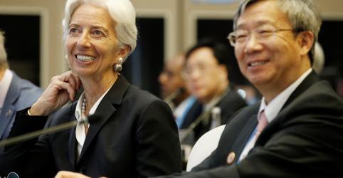 Placeholder - loading - Citando tensões comerciais, FMI corta previsão de crescimento da China em 2019 a 6,2%