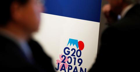 Placeholder - loading - Imagem da notícia Guerra comercial e crescimento fraco testarão otimismo de líderes financeiros do G20