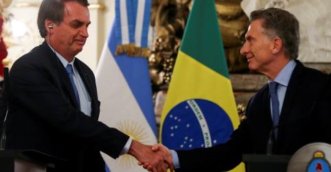 Placeholder - loading - Em Buenos Aires, Bolsonaro diz temer 'novas Venezuelas' e pede racionalidade a argentinos em eleição