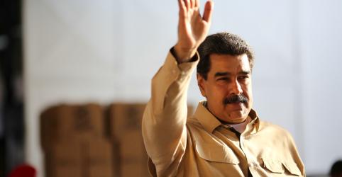 Placeholder - loading - Imagem da notícia Maduro anuncia acordo com Cruz Vermelha para acelerar entrada de ajuda humanitária na Venezuela