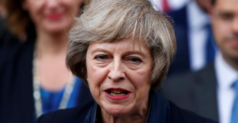 Placeholder - loading - Premiê britânica May deixa liderança do Partido Conservador