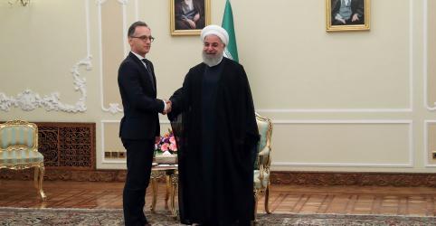 Placeholder - loading - Imagem da notícia Alemanha pede apaziguamento de tensão 'explosiva' entre Irã e EUA